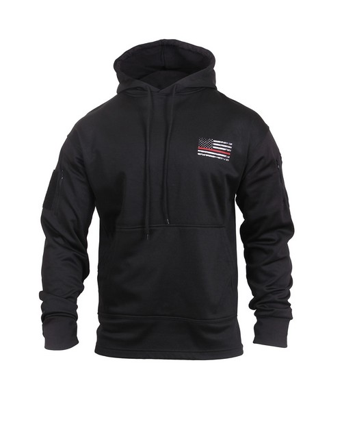 Rothco 2066 Thin Red Line Concealed Carry Hoodie