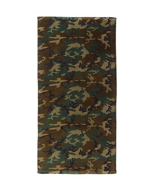 Rothco 2300 Beach Towel - Military Insignia