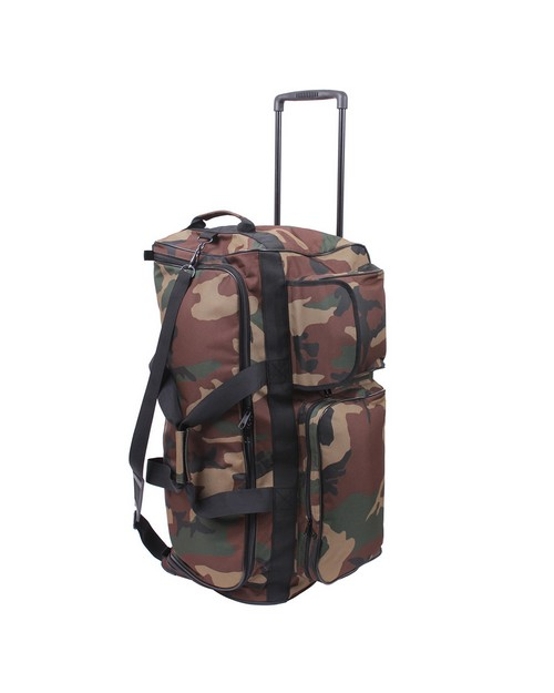 Rothco 2654 Camo 30'' Military Expedition Wheeled Bag