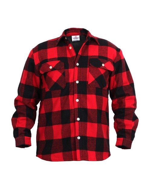 Rothco 2739 Fleece Lined Flannel Shirt