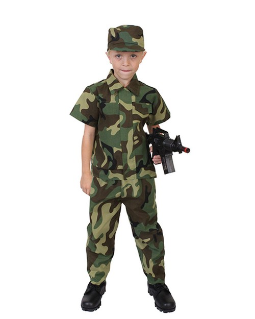 Rothco 2756 Kids Camouflage Soldier Costume