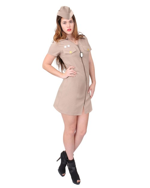 Rothco 2757 Women's Khaki Military Costume