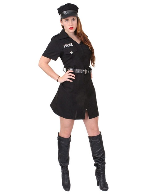 Rothco 2758 Women's Black Police Costume