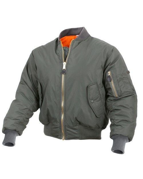 Rothco 2860 Enhanced Nylon MA-1 Flight Jacket