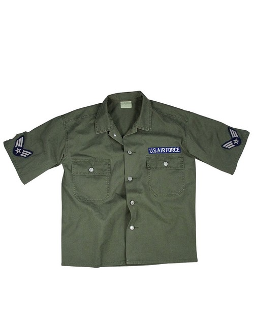 Rothco 2875 Vintage Army Air Force Short Sleeve BDU Shirt