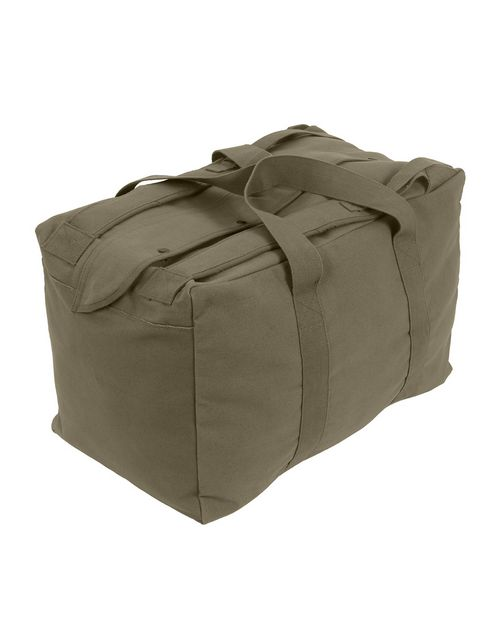 Rothco 3125 Canvas Mossad Type Tactical Canvas Cargo Bag