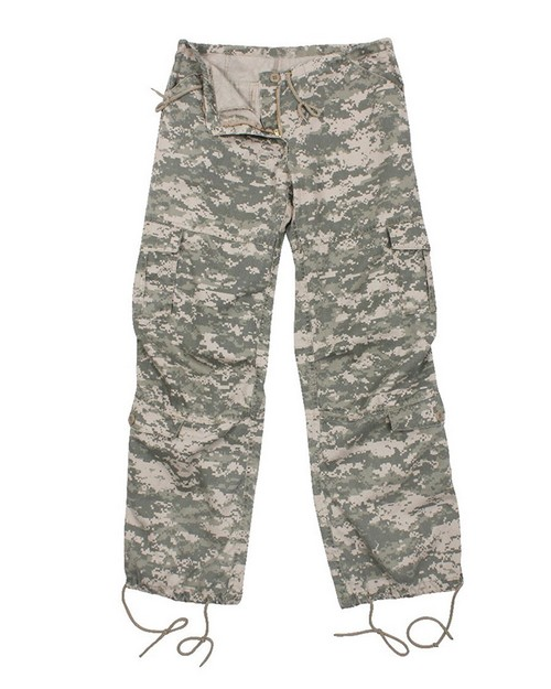 Rothco 3386 Women's Camo Vintage Paratrooper Fatigue Pants