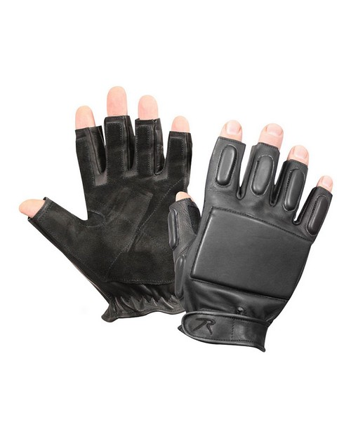 Rothco 3454 Tactical Fingerless Rappelling Gloves
