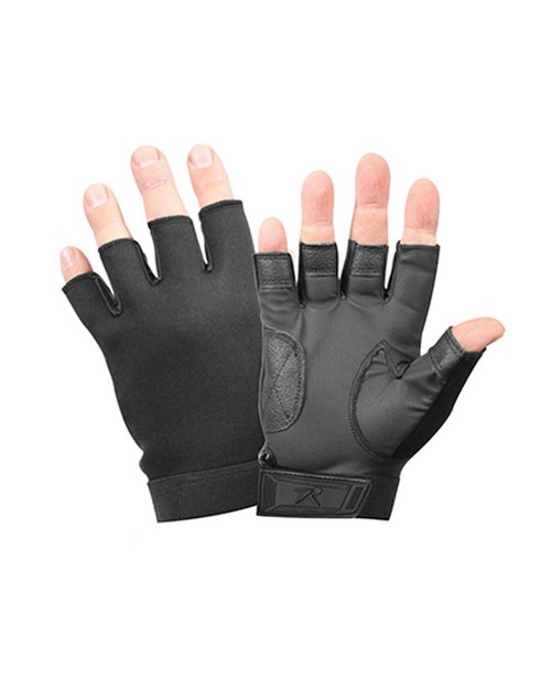 Rothco 3460 Fingerless Stretch Fabric Duty Gloves
