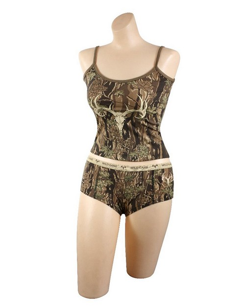 Rothco 3485 Wild Game Booty Shorts & Tank Top