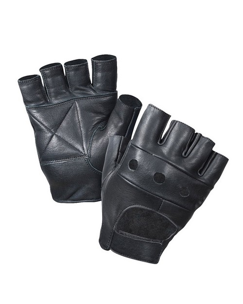 Rothco 3498 Fingerless Biker Gloves