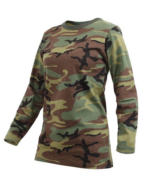 Rothco 3678 Women's Long Sleeve Camo T-Shirt