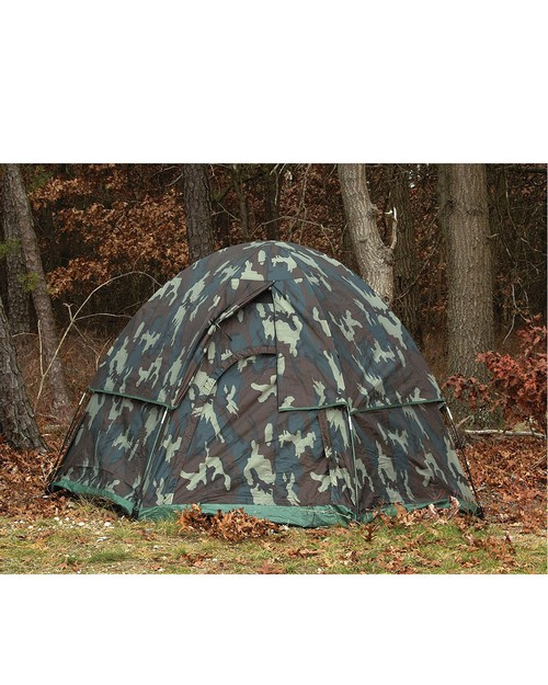 Rothco 3809 Camo 3-Man Hexagon Dome Tent