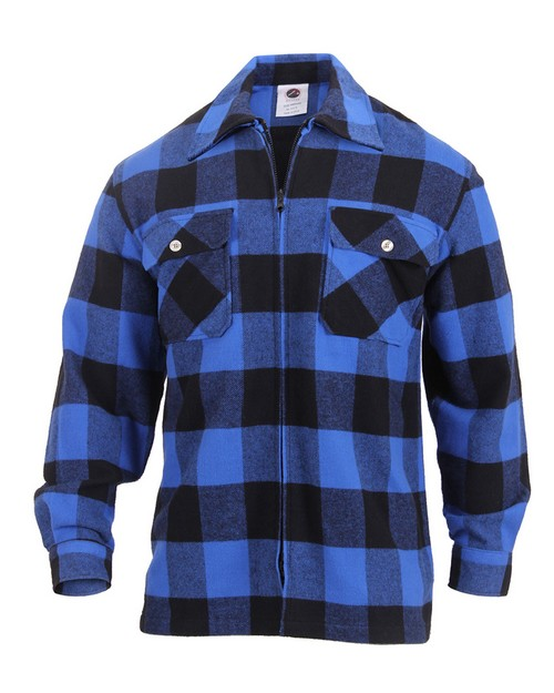 Rothco 3866 Concealed Carry Flannel Shirt