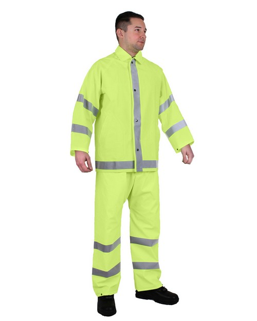 Rothco 3954 Reflective Rainsuit