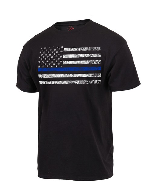 Rothco 3960 Thin Blue Line T-Shirt