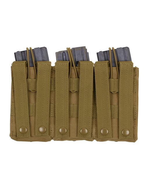 Rothco 40004 MOLLE Open Top Triple Mag Pouch