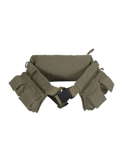 Rothco 4257 Canvas 7 Pocket Fanny Pack