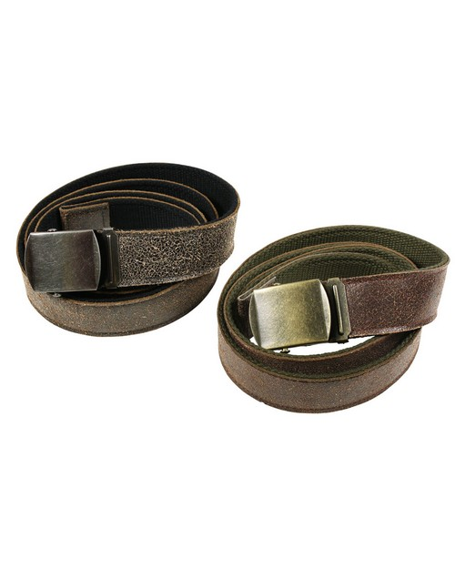 Rothco 4306 Reversible Vintage Leather/Poly Web Belt