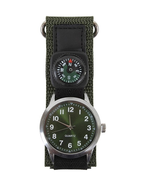 Rothco 4340 Watch With Compass-Olive Drab