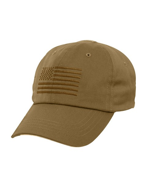 Rothco 4363 Tactical Operator Cap With US Flag