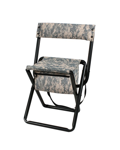 Rothco 4378 Deluxe Camo Stool With Pouch