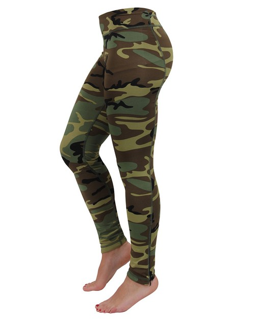 Rothco 44090 Women's Camo Performance Leggings