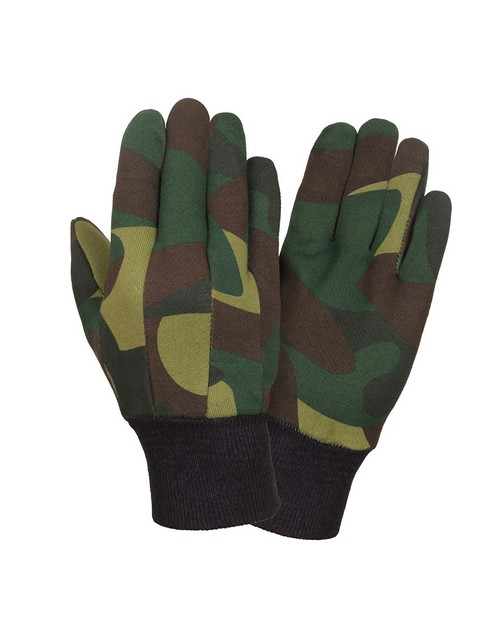 Rothco 4414 Camo Jersey Work Gloves