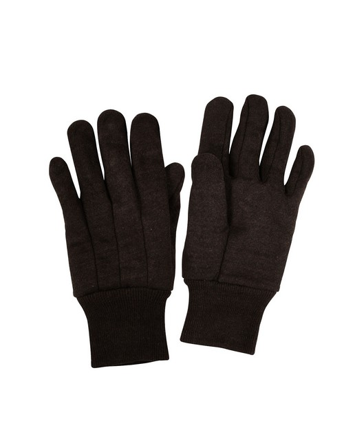 Rothco 4416 Brown Cotton Jersey Work Gloves