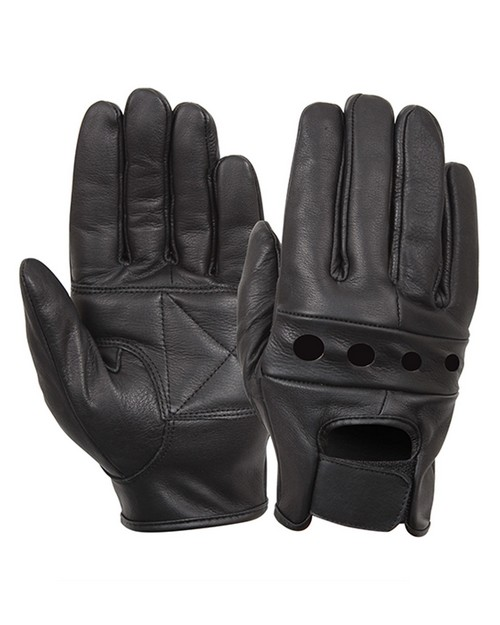Rothco 4418 Leather Motorcycle Gloves