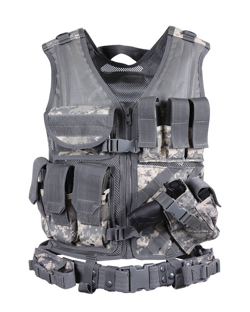 Rothco 44491 Cross Draw MOLLE Tactical Vest