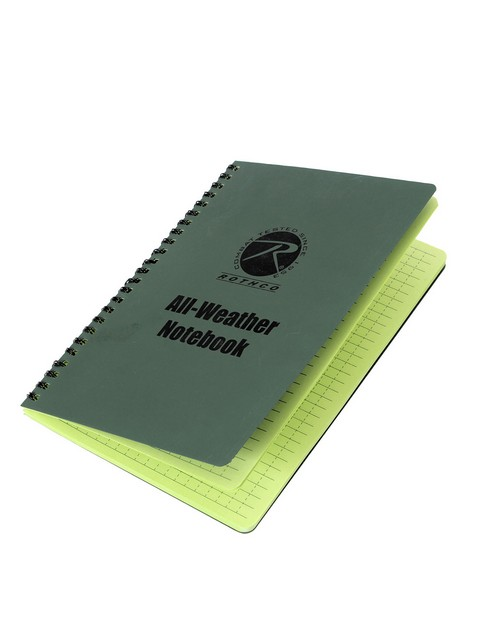 Rothco 44700 All Weather Waterproof Notebook