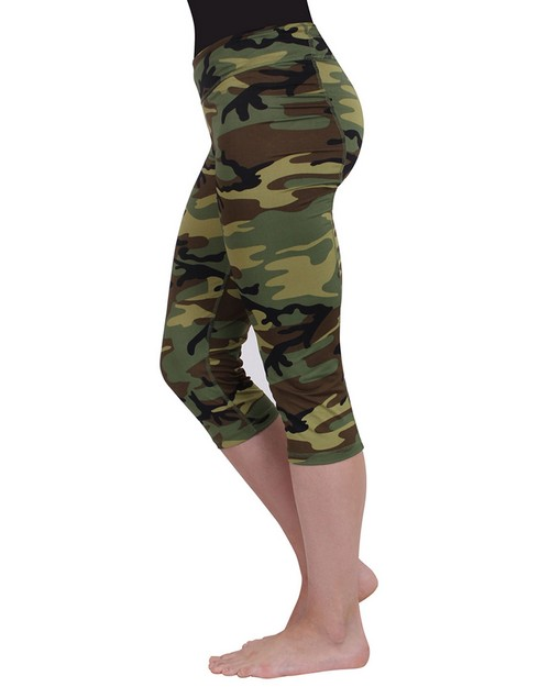 Rothco 4471 Women's Camo Workout Performance Capris