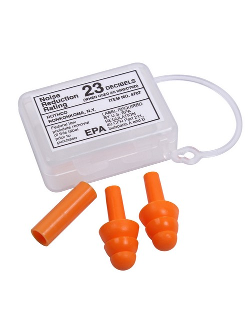 Rothco 4707 GI Type Silicon Earplugs