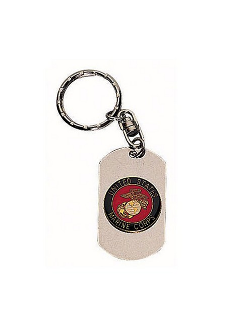 Rothco 4783 Marines Dog Tag Key Chain