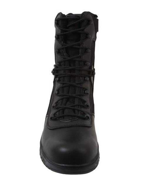 Rothco 5063 8 Inch Forced Entry Tactical Boot With Side Zipper & Composite Toe