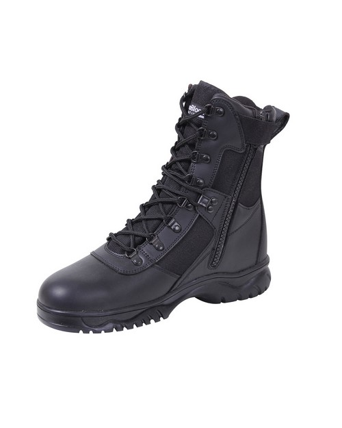 Rothco 5073 Insulated 8 Inch Side Zip Tactical Boot