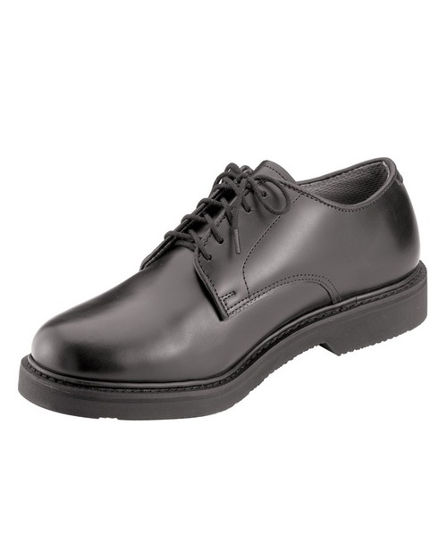 Rothco 5085 Military Uniform Oxford Leather Shoes