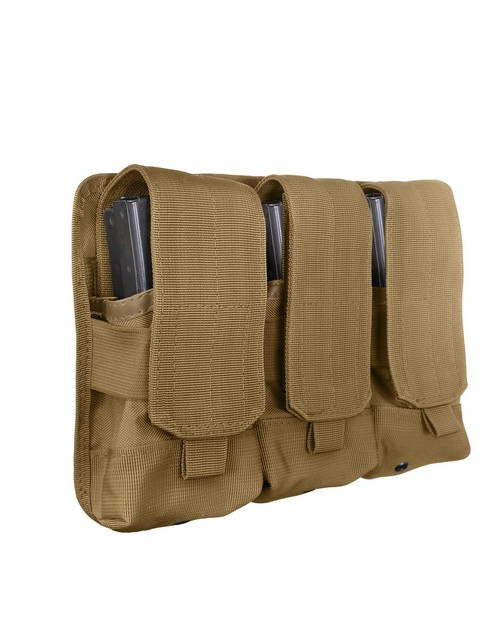 Rothco 5093 Universal Triple Mag Rifle Pouch