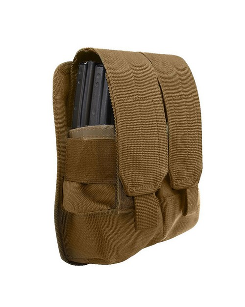 Rothco 51003 Universal Double Mag Rifle Pouch - Molle