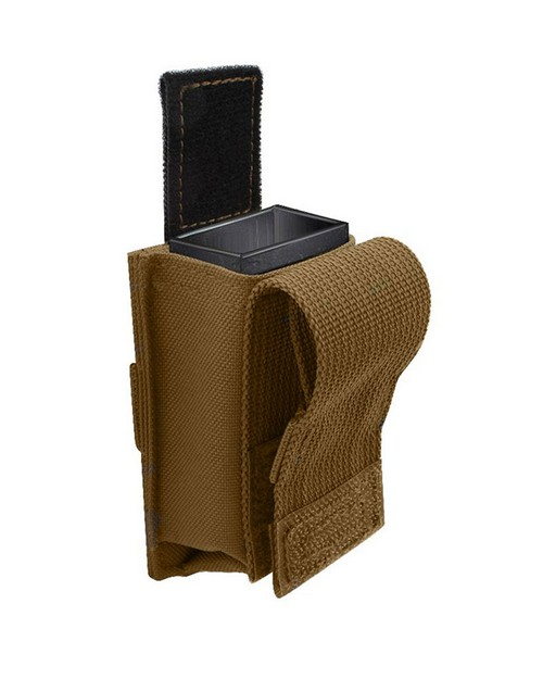 Rothco 51004 Single Pistol Mag Pouch With Insert - Molle