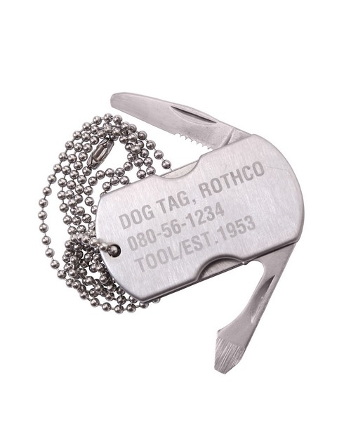 Rothco 5269 Dog Tag Multi-Tool