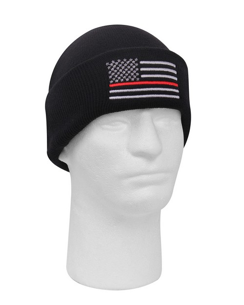 Rothco 5433 Deluxe Thin Red Line Watch Cap