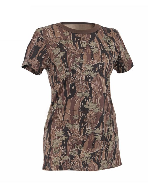 Rothco 5578 Womens Long Length Camo T-Shirt