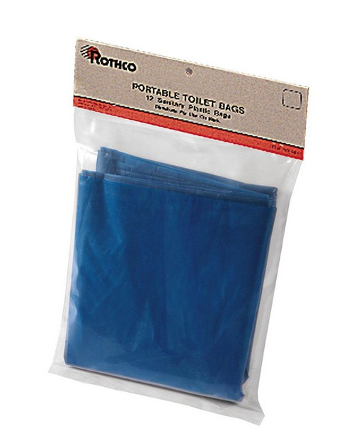 Rothco 561 Portable Camp Toilet Replacement Bags