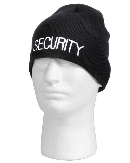 Rothco 56560 Embroidered Security Acrylic Skull Cap