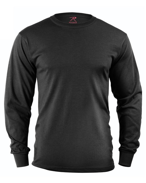 Rothco 60118 Long Sleeve Solid T-Shirt