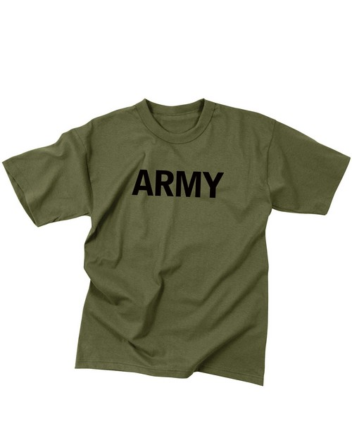 Rothco 60136 Olive Drab Military Physical Training T-Shirt