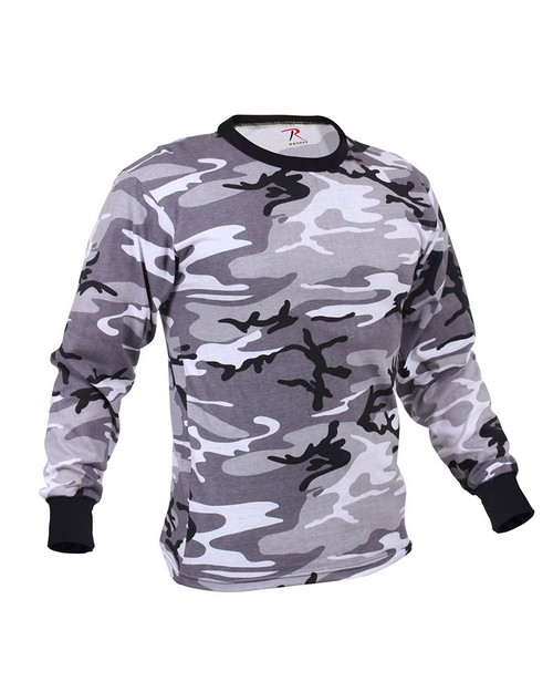 Rothco 60210 Long Sleeve Camo T-Shirt
