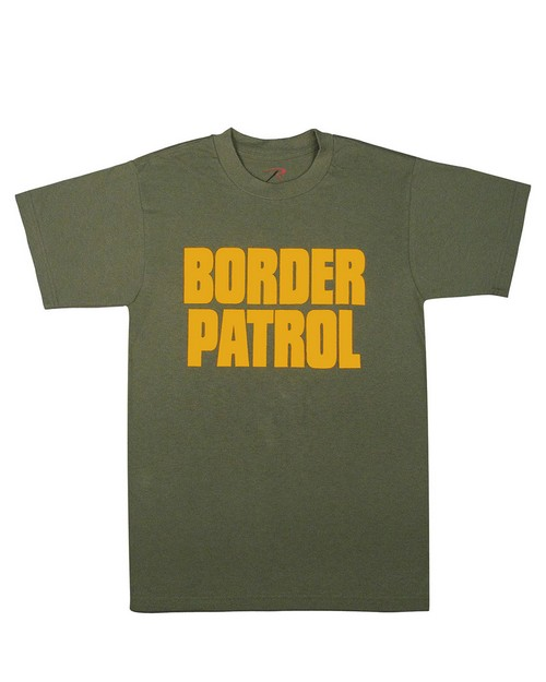 Rothco 60468 2-Sided Border Patrol T-Shirt